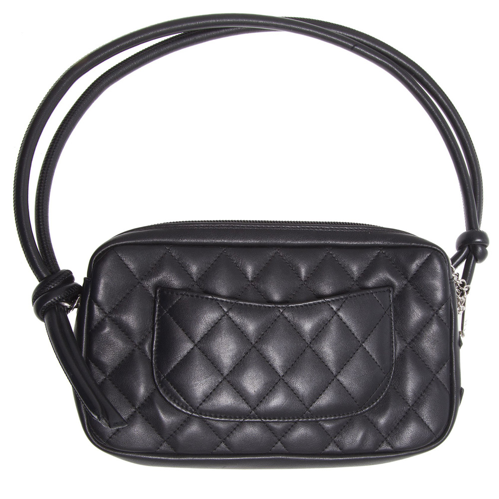 c4fdee5509 ... Shop Authentic Chanel Online In India My Luxury Bargain CHANEL BLACK QUILTED  LEATHER CAMBON BOWLER BAG ...