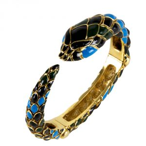 Shop Authentic Luxury accessories My Luxury Bargain ROBERTO CAVALLI SNAKE BANGLE BRACELET