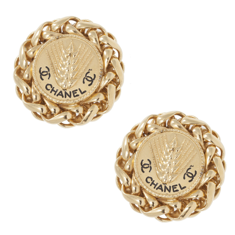 Chanel vintage trigo earrings 2003 for Where to buy jewelry online